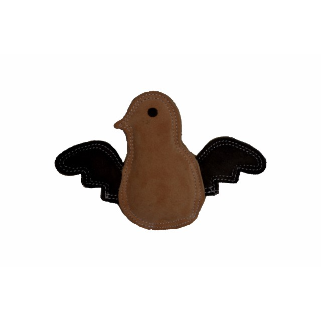 Durable Chewing Leather Bird Dog Toy