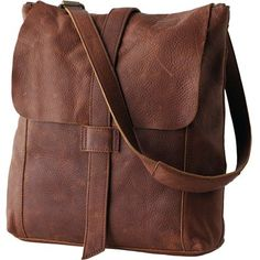 2a59bc3a9fe4 Brown Leather Messenger Flap Bag Manufacturer