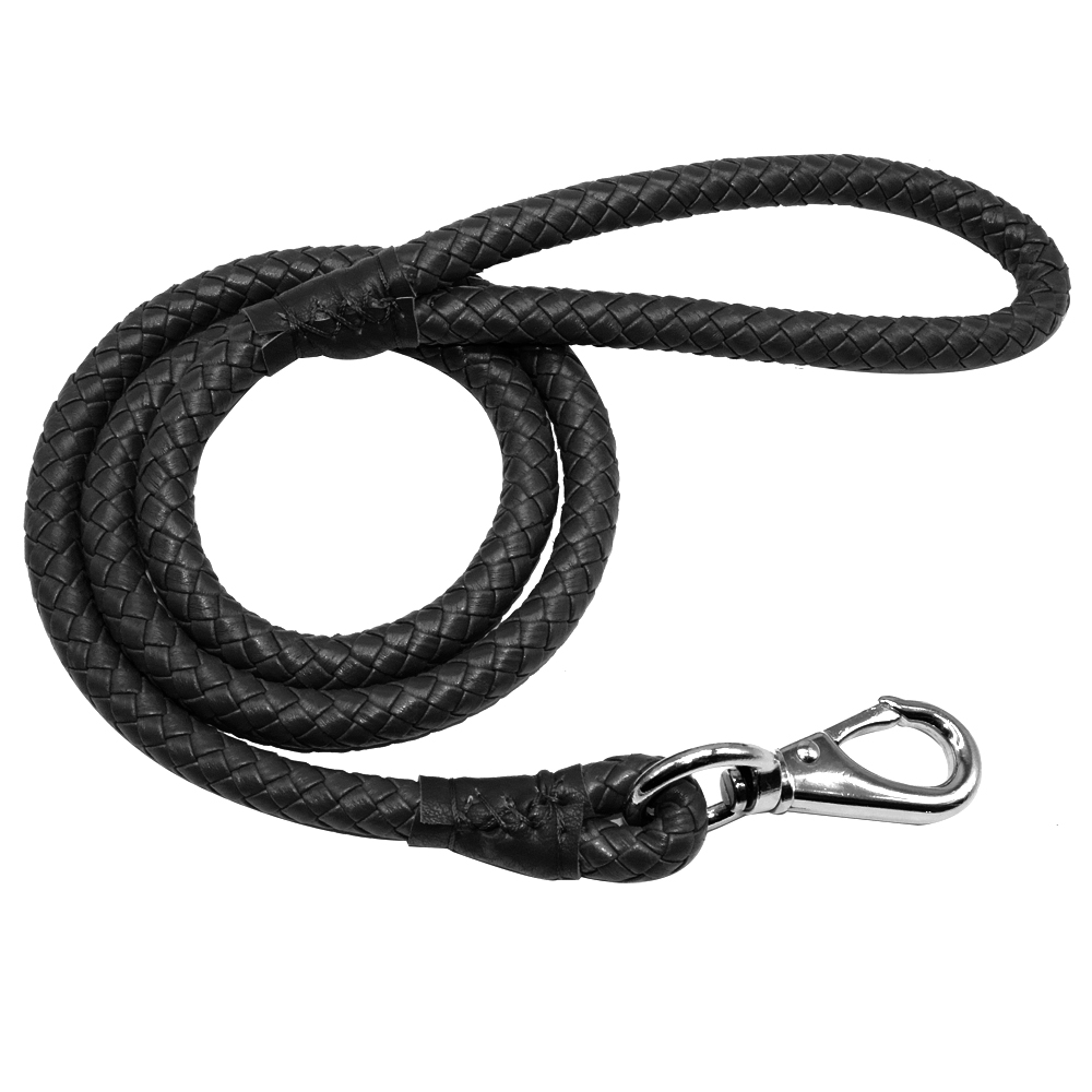 Braided Leather Black Dog Leash Manufacturers In Delhi Wiring Harness